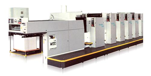 4-красочная печатная машина Man Roland 300, формат печатного листа В2
